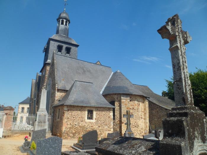 Journées du patrimoine 2019 - Visite guidée et animation à l'Eglise de Livré-la-Touche
