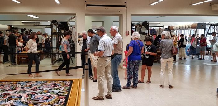 Journées du patrimoine 2019 - Visite libre d'ateliers de tissage