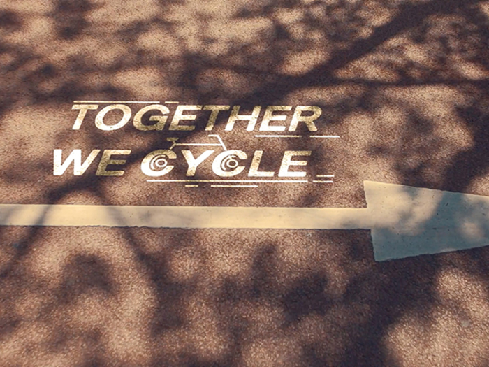 Projection - Together we cycle