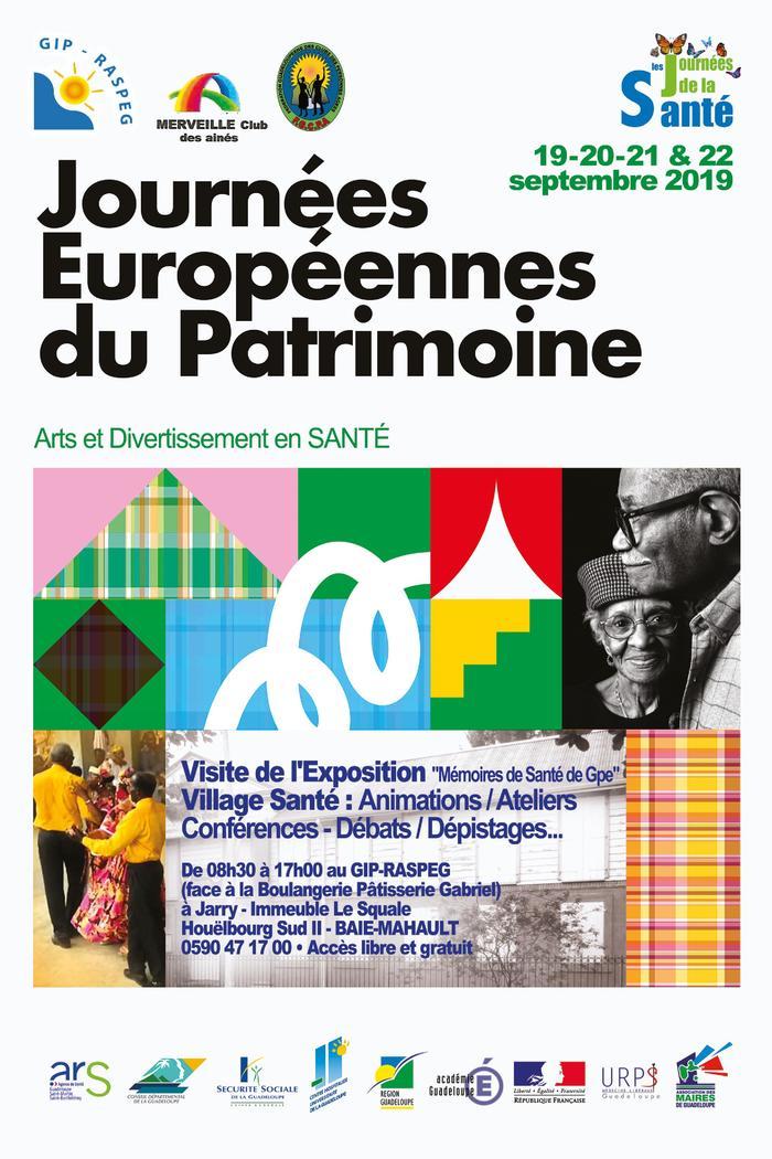 Journées du patrimoine 2019 - JOURNÉES EUROPÉENNES DU PATRIMOINE EN SANTÉ