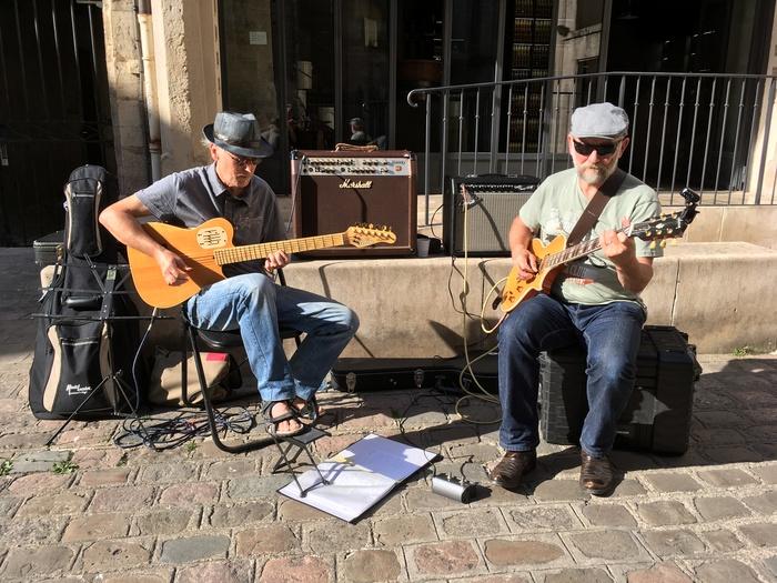 Fête de la musique 2019 - Duo de guitares Michel et Mark