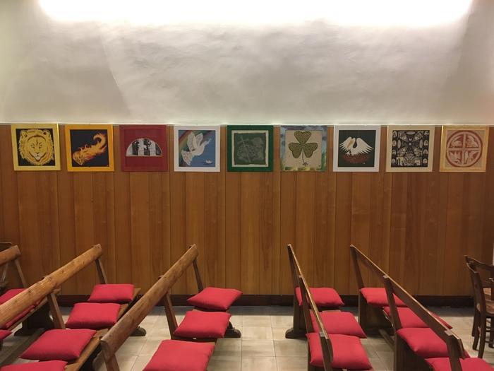 Journées du patrimoine 2020 - Visite guidée du temple protestant d'Epernay et de l'exposition de Marie-Hellen Geoffroy