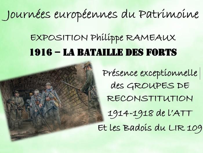 Journées du patrimoine 2020 - La vie des Poilus au temps de 1914-1918