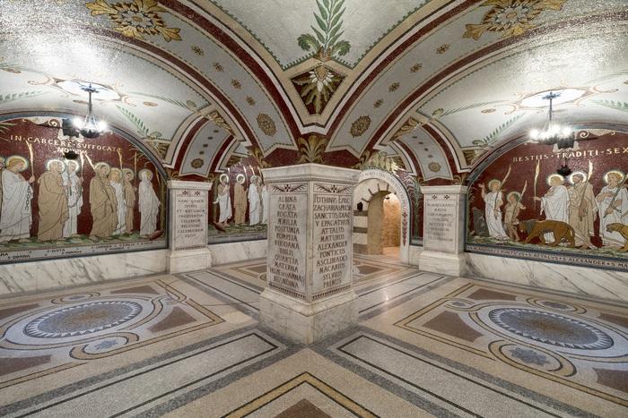 Journées du patrimoine 2019 - Les mosaïques de l'Antiquaille - Un autre récit de la persécution de 177