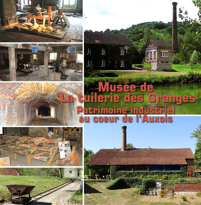 Journées du patrimoine 2020 - Découvrez La tuilerie des Granges, patrimoine industriel au cœur de l'Auxois (Grignon)
