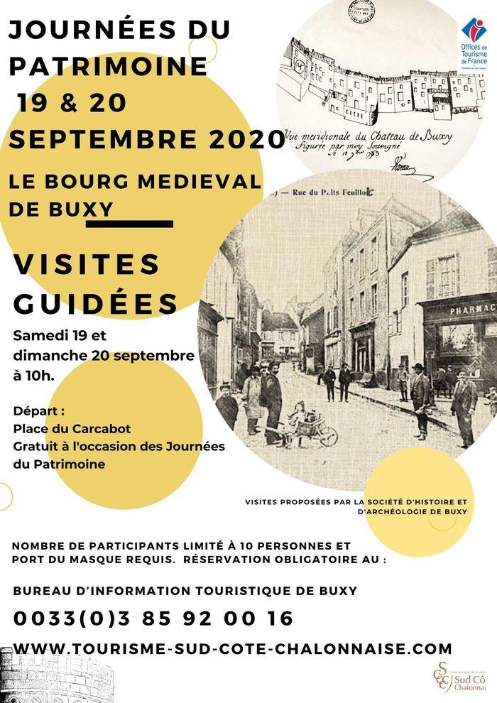 Journées du patrimoine 2020 - Visite guidée du bourg médieval