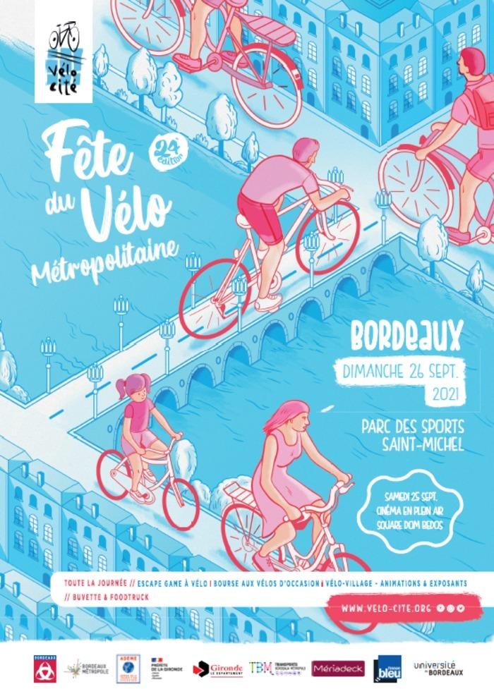 Fête du Vélo Métropolitaine 24ème édition