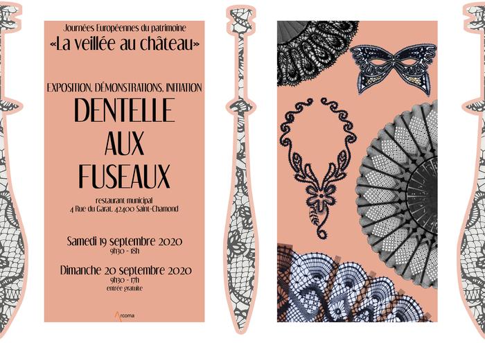 Journées du patrimoine 2020 - Dentelle aux Fuseaux : exposition, démonstration,  initiation.