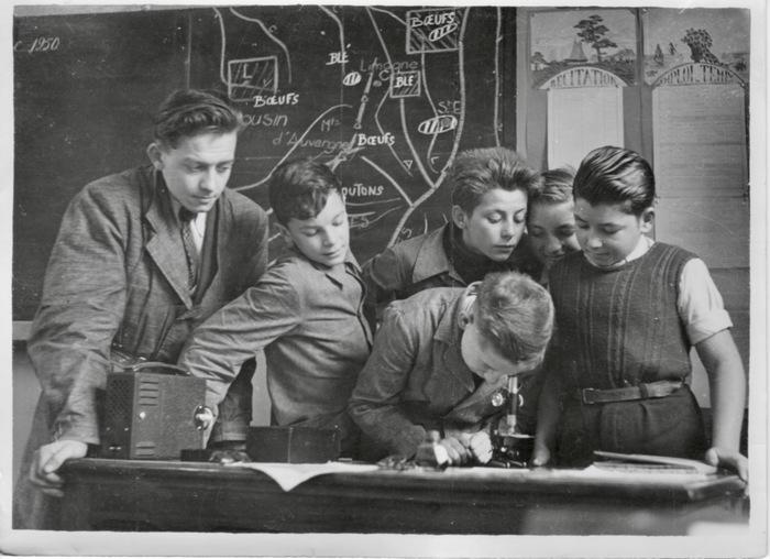 Journées du patrimoine 2020 - Exposition photos et documents de l'école d'autrefois dans un Clos masure