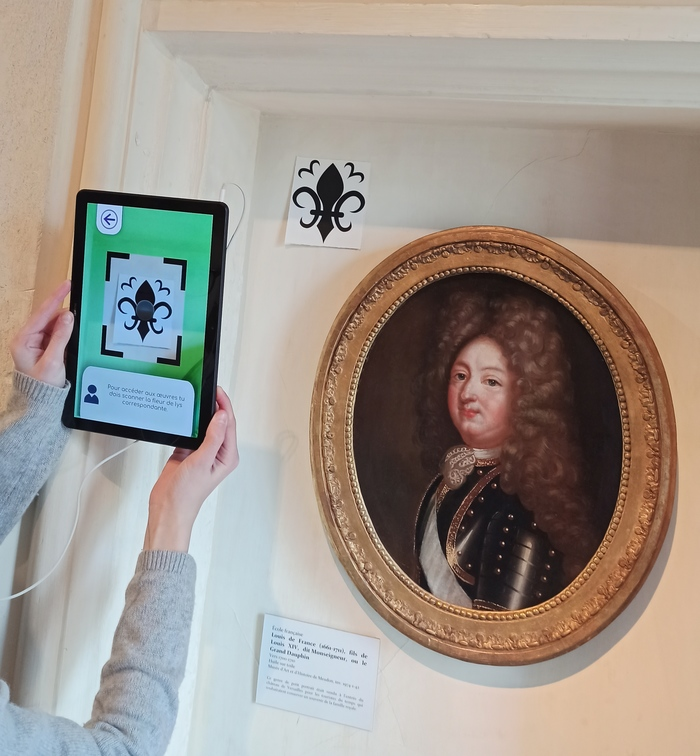 Découvrez l'application numérique qui propose une chasse au trésor dans les salles du Musée