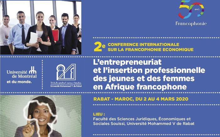 L'entrepreneuriat et l'insertion professionnelle des jeunes et des femmes en Afrique francophone
