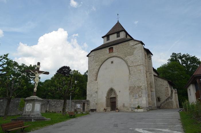 Journées du patrimoine 2020 - Visite guidée de l'église Sainte-Foy de Contamine-sur-Arve, site clunisien