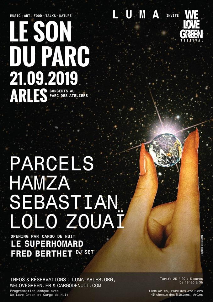 LUMA & le festival WE LOVE GREEN lancent un nouveau rendez-vous à Arles : une soirée de concerts pop, rap et électro en plein air !