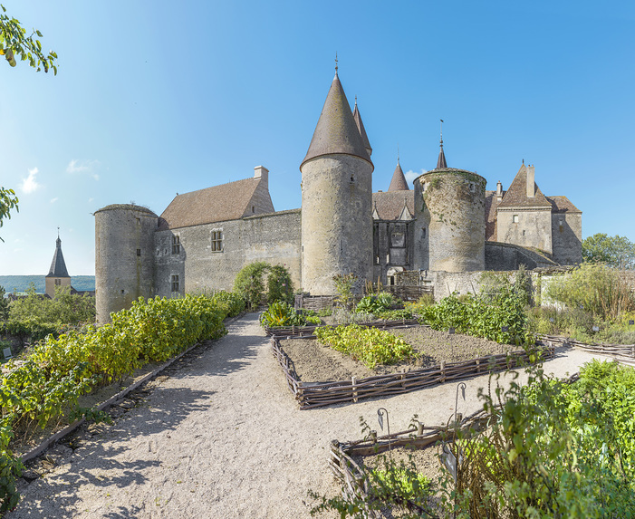 Journées du patrimoine 2019 - Découvrir le château médiéval de Châteauneuf-en-Auxois