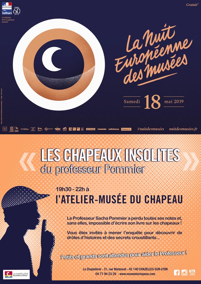 Nuit des musées 2019 -Découverte insolite de l'Atelier-Musée