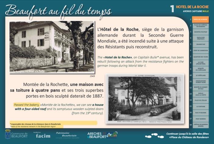 Journées du patrimoine 2020 - Parcours guidé du centre-bourg de Beaufort animé par des artistes et artisans locaux