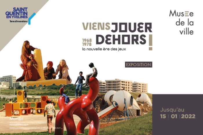 """Visite découverte """"Le renouveau des aires de jeux en France – 1968-1978"""""""