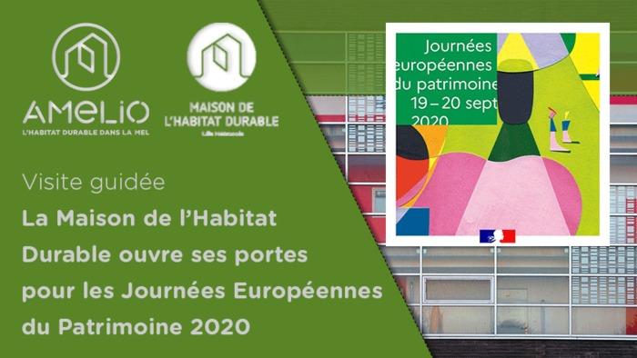 Journées Européennes du Patrimoine : visite guidée de la Maison de l'Habitat Durable