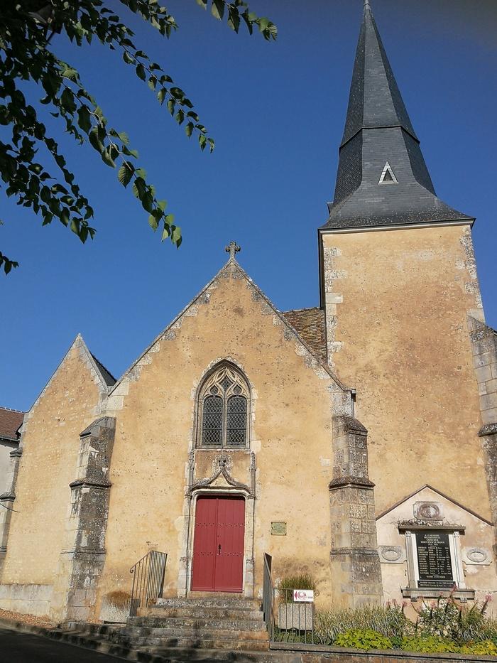 Journées du patrimoine 2019 - Découverte de l'église Saint-Augustin de Contres