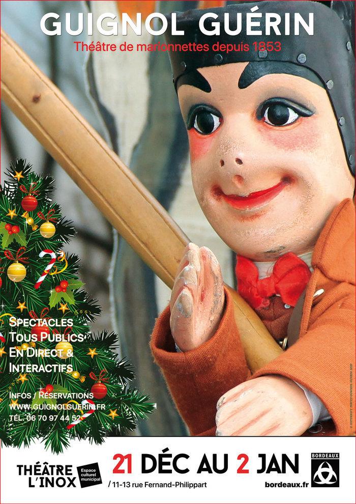 GUIGNOL GUERIN au théâtre l'Inox pour les Vacances de Noël