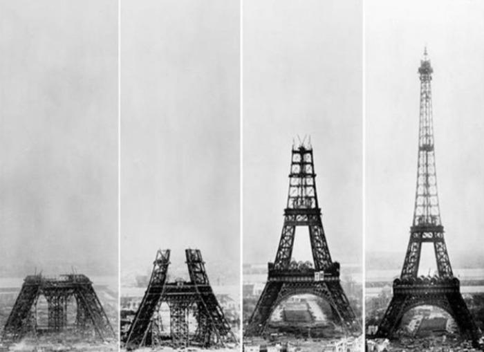 Journées du patrimoine 2019 - Atelier enfants - Construction d'une Tour Eiffel