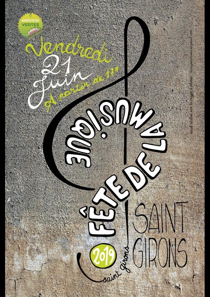 Fête de la musique 2019 - Les Voix-ci Les voix-là / Massipous / Biroussans / Ateliers de Hautbois Trad' / Rancho Folclorico / MMX Filouz' / label Soame