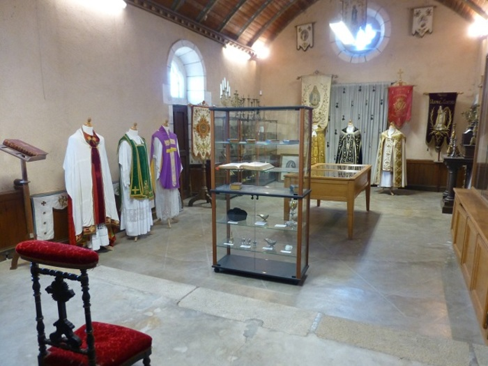 Journées du patrimoine 2020 - Chapelle Notre-Dame du Châtellier : art sacré et manuscrits