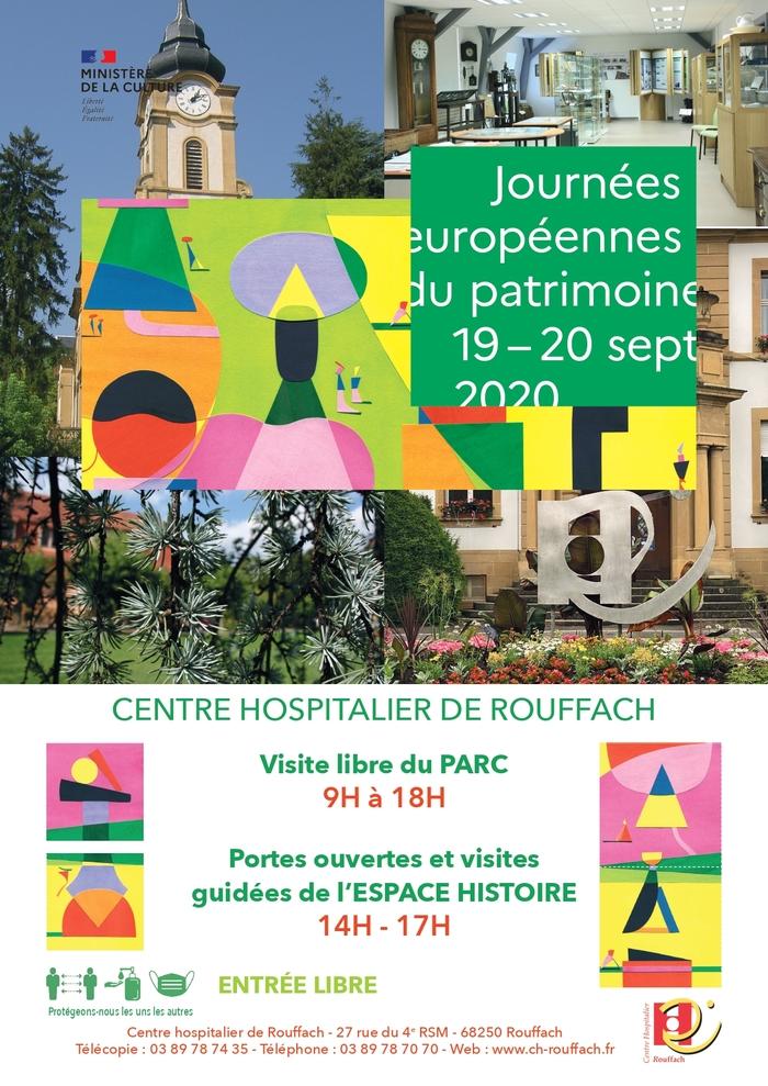 Journées du patrimoine 2020 - Ouverture du parc du Centre hospitalier de Rouffach