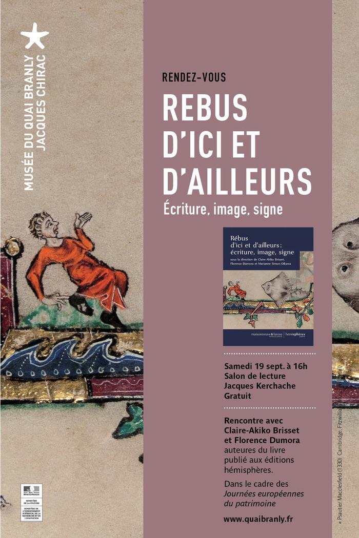 Journées du patrimoine 2020 - Rébus d'ici et d'ailleurs : écriture, image, signe