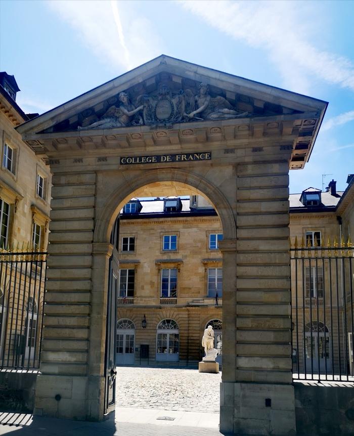 Journées du patrimoine 2019 - Les patrimoines du Collège de France