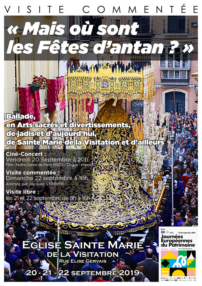 Journées du patrimoine 2019 - Ciné-concert