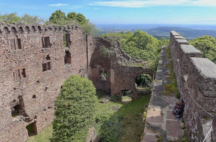 Journées du patrimoine 2020 - Visite exceptionnelle des Châteaux d'Ottrott