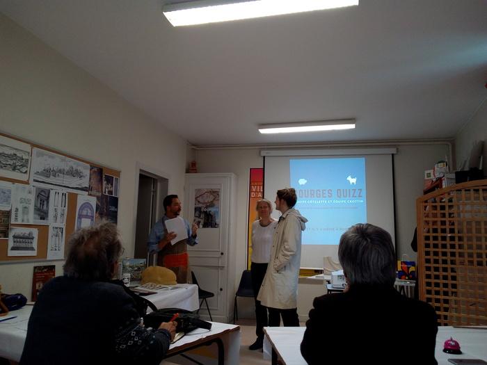 Journées du patrimoine 2019 - Bourges Quizz