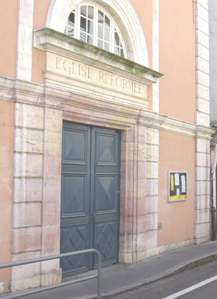 Journées du patrimoine 2019 - Visites libres du temple de l'église réformée de Chalon-sur-Saône