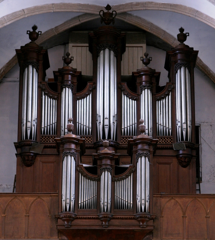 Journées du patrimoine 2019 - Montée à la tribune de l'orgue de l'Église Saint-Martin