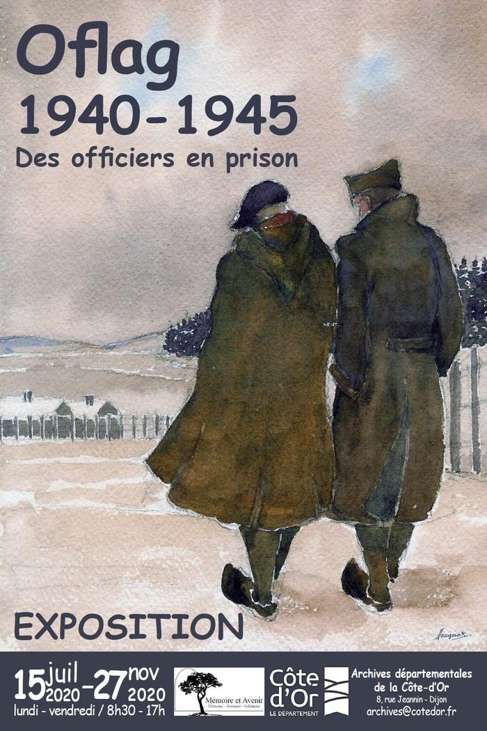 Journées du patrimoine 2020 - Exposition Oflag, 1940-1945 : des officiers en prison.