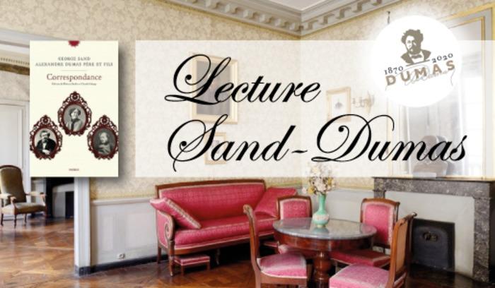 (Lecture-Causerie) Correspondance entre Dumas Père, Fils et George Sand