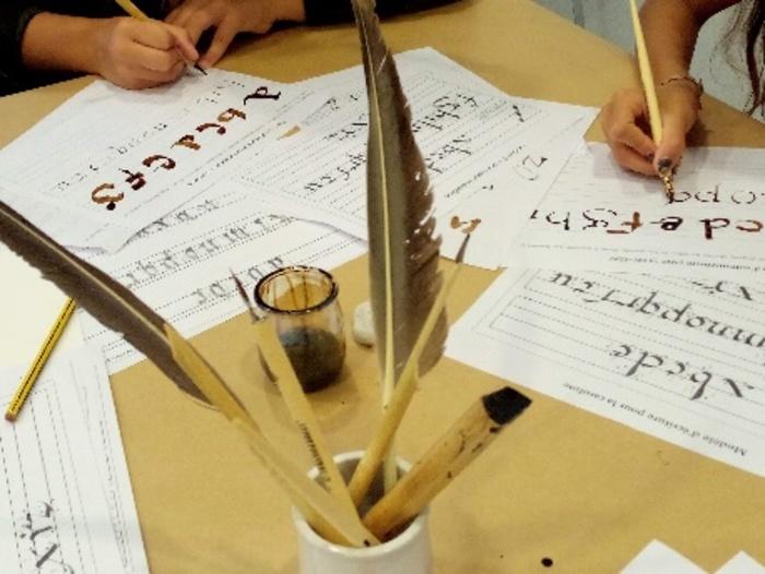 Journées du patrimoine 2019 - Atelier de calligraphie