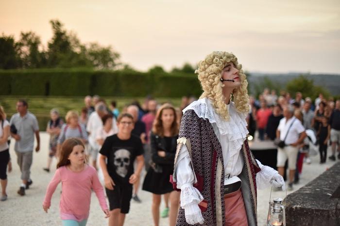 Journées du patrimoine 2019 - Commentaire historique costumé au château