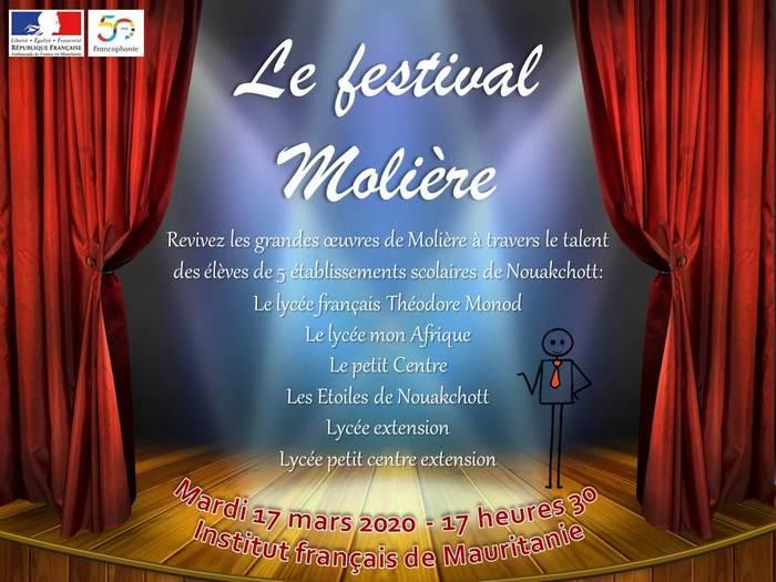 En coordination avec 6 écoles de Nouakchott, Festival en hommage à Molière