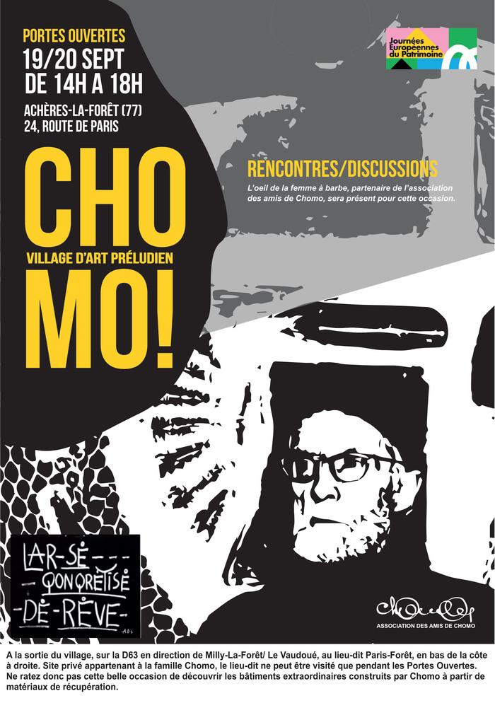Journées du patrimoine 2020 - Chomo Village d'art Préludien - Portes ouvertes
