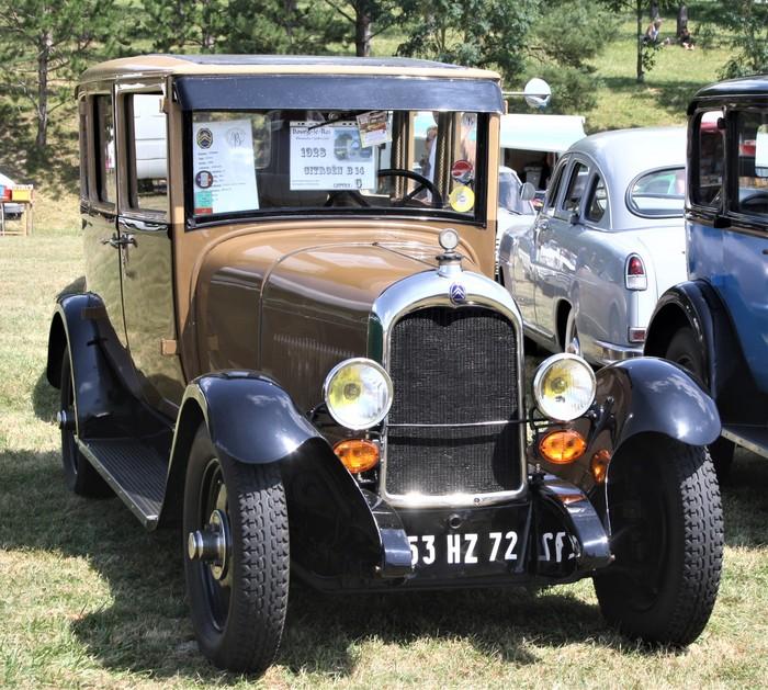 Journées du patrimoine 2020 - Exposition de voiture anciennes