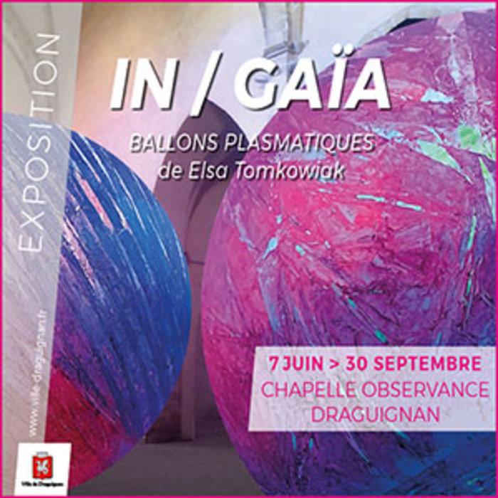 Journées du patrimoine 2019 - Exposition In/Gaïa d'Elsa Tomkowiak
