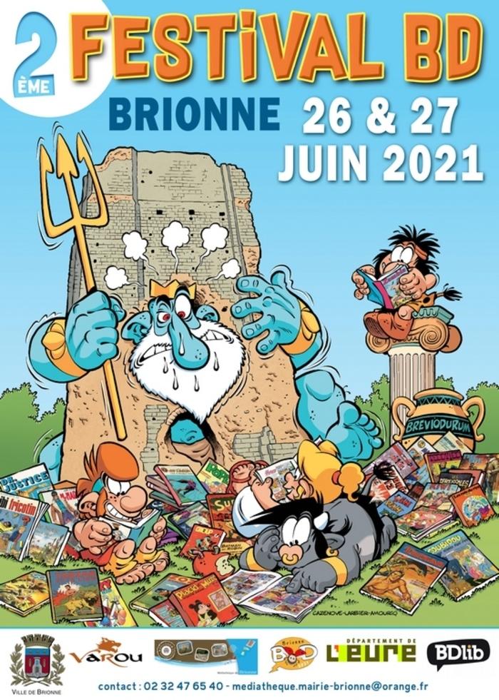 Vincent Pompetti et Tarek seront présents au 2éme Festival BD de Brionne