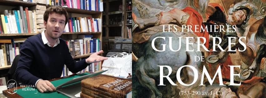 Matthieu Engerbeaud revient à Arles nous parler des premières guerres de Rome.