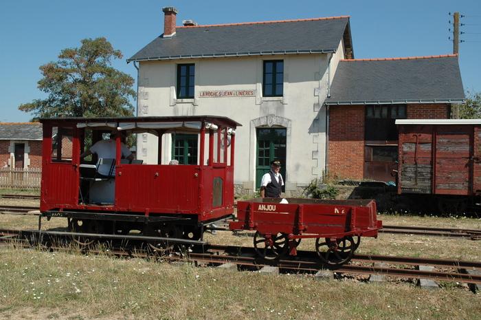Journées du patrimoine 2020 - Visite guidée de la gare du Petit Anjou