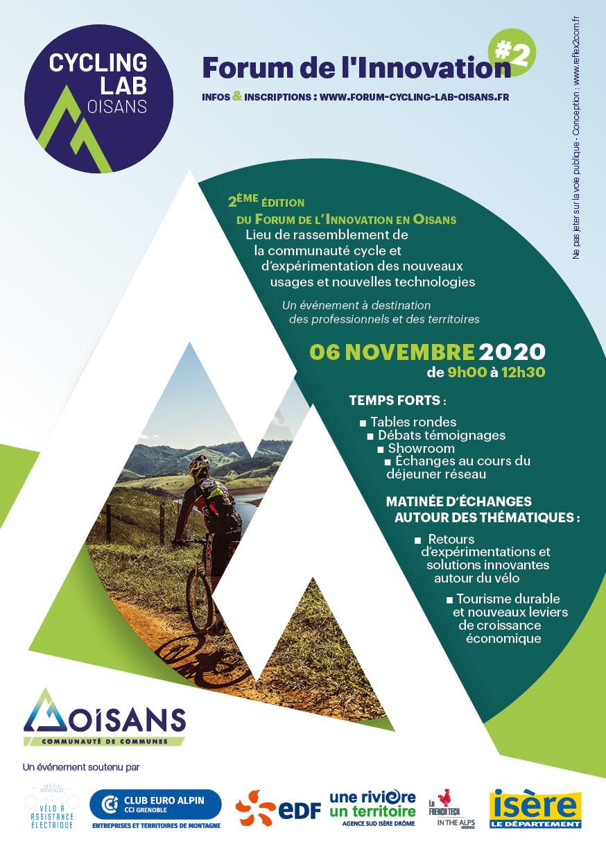 Cycling Lab Oisans - Forum de l'innovation #2
