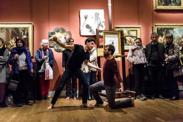 Nuit des musées 2019 -Les Manuscrits de jeunesse de Delacroix théâtralisés