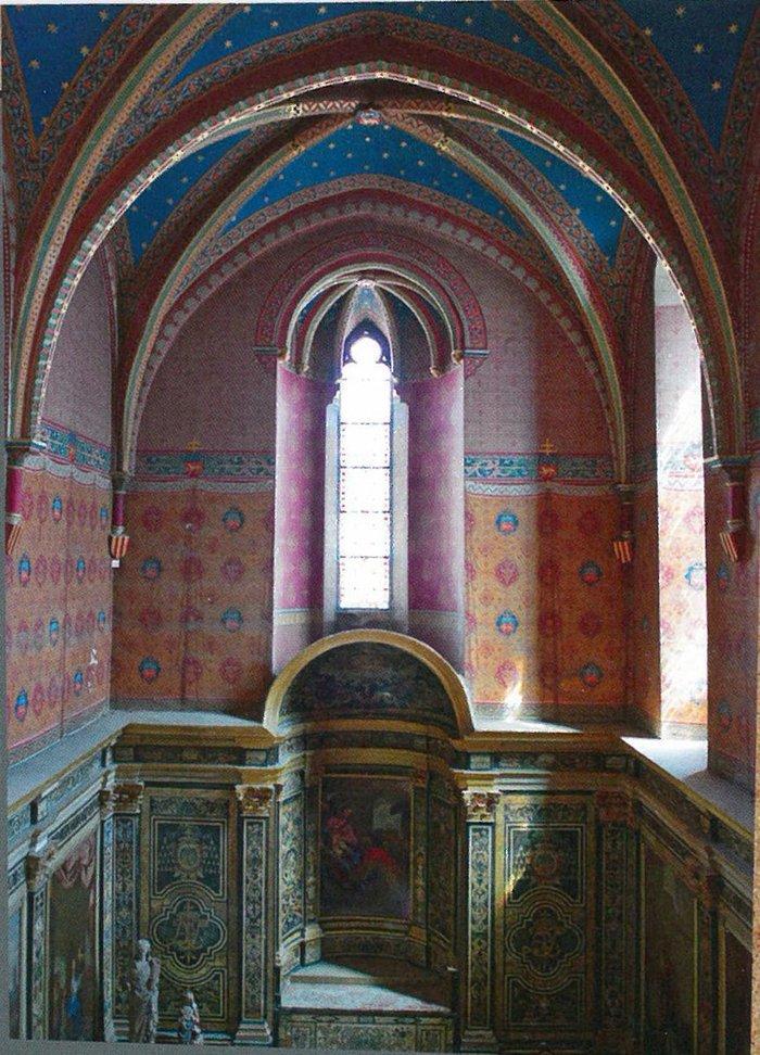 Découverte de la chapelle Notre-Dame, du pavement et de la galerie d'Amboise