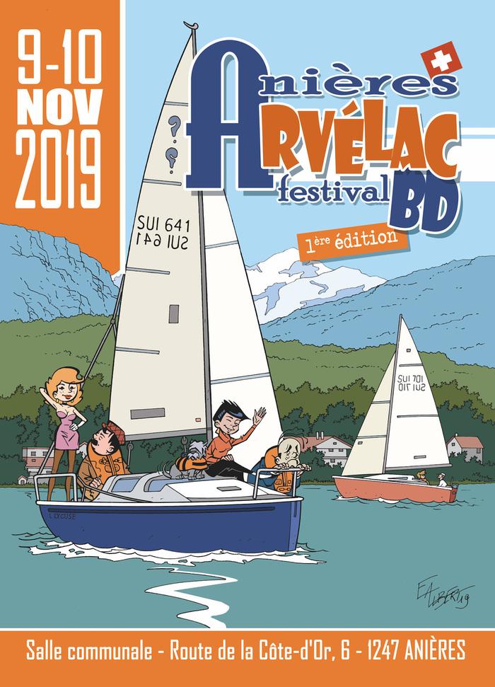 Le festival BD Arvélac, se tiendra les 9 et 10 novembre 2019 dans la salle communale de la ville d'Anières dans le canton de Genève.